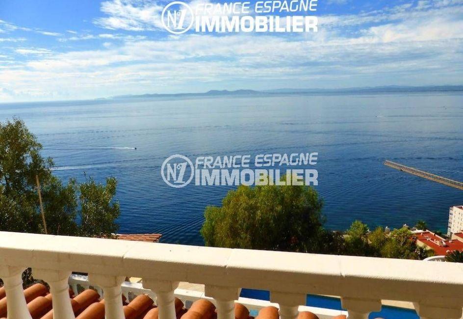 la costa brava: villa ref.1924, aperçu de cette splendide vue sur la mer
