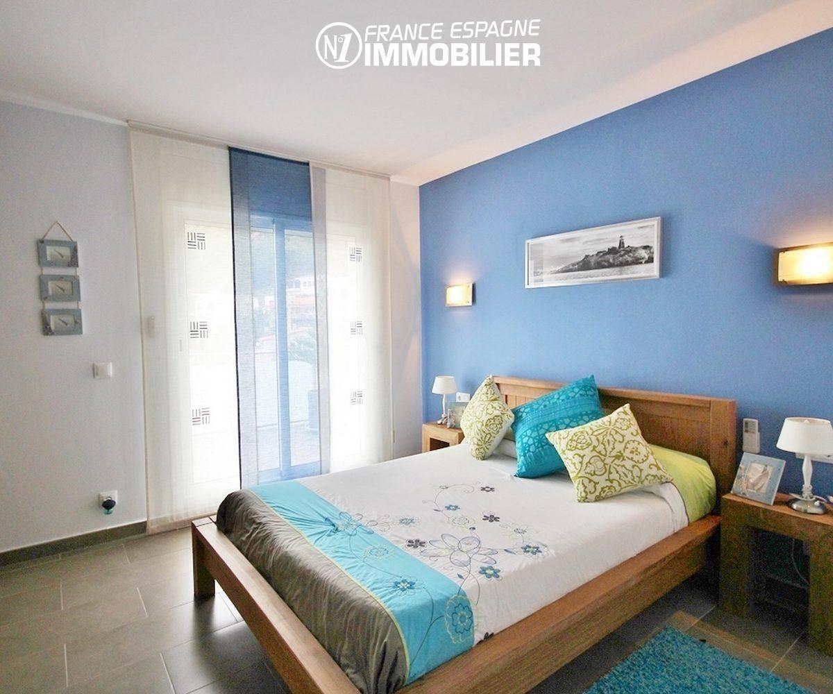 la costa brava: villa ref.1031, quatrième chambre avec lit double et placards