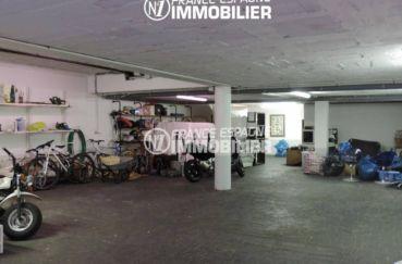achat maison espagne costa brava, ref.2058, vue sur le garage de 150 m²