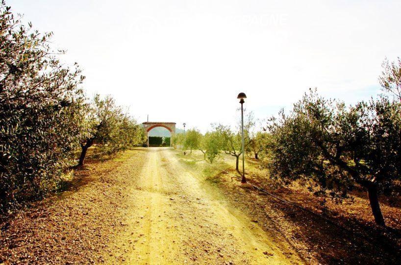 maison a vendre espagne catalogne, ref.2772, un des chemins de la villa