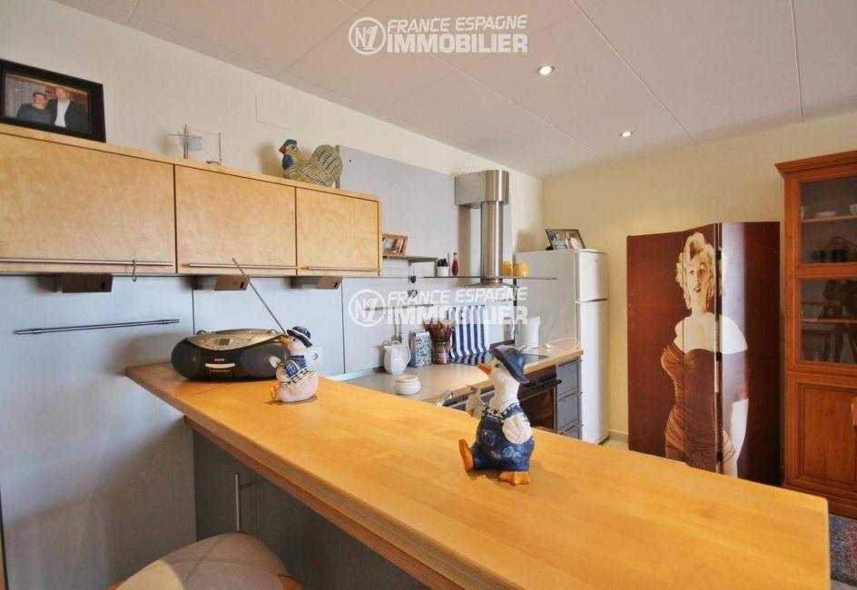 ventes immobilieres rosas espagne: villa ref.3326, cuisine de l'appartement