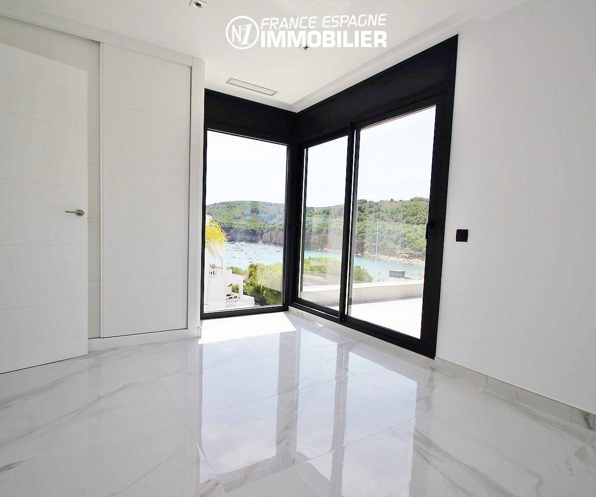 maison à vendre en espagne costa brava, ref.3268, chambre avec placards accès terrasse