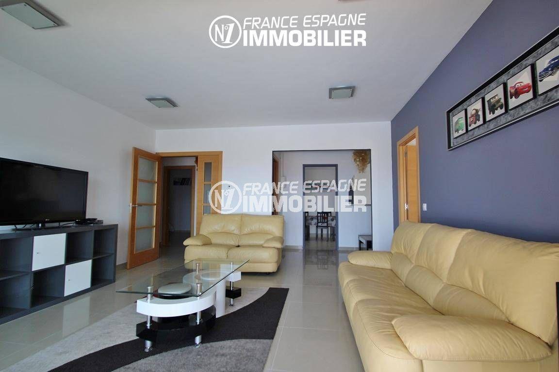 vente immobilier rosas espagne: ref.2435, appartement indépendant: salon / salle à manger