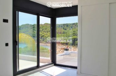 maison à vendre en espagne costa brava, ref.3269, vue sur la mer depuis suite parentale