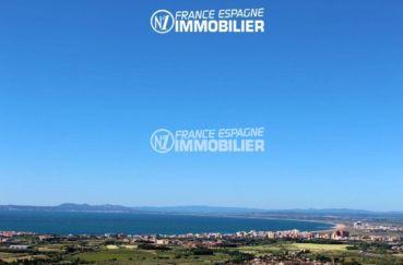 agence immobilière roses espagne: villa ref.2435, magnifique vue depuis la terrasse