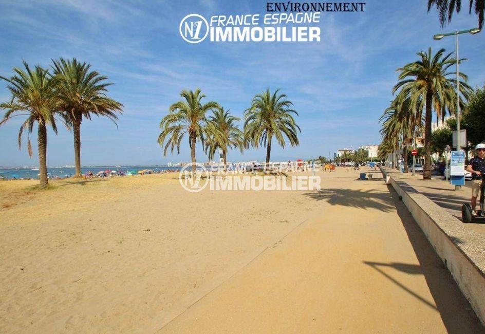 immo center: appartement ref.3335, l'immense plage toute proche