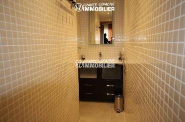 agence immobilière rosas espagne: villa ref.1031, troisième salle d'eau avec meule vasque