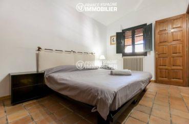 vente maison espagne costa brava, ref.3306, deuxième chambre avec un lit double