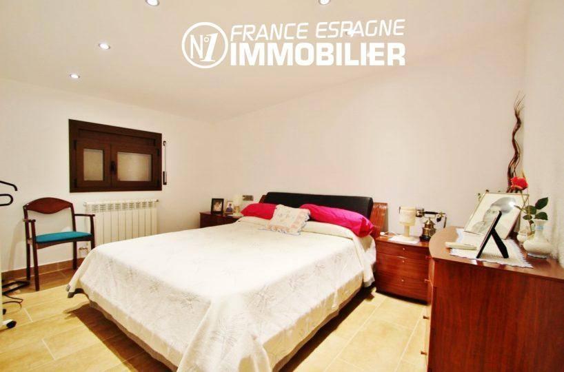 vente immobilier rosas espagne: villa ref.2772, première chambre avec lit double