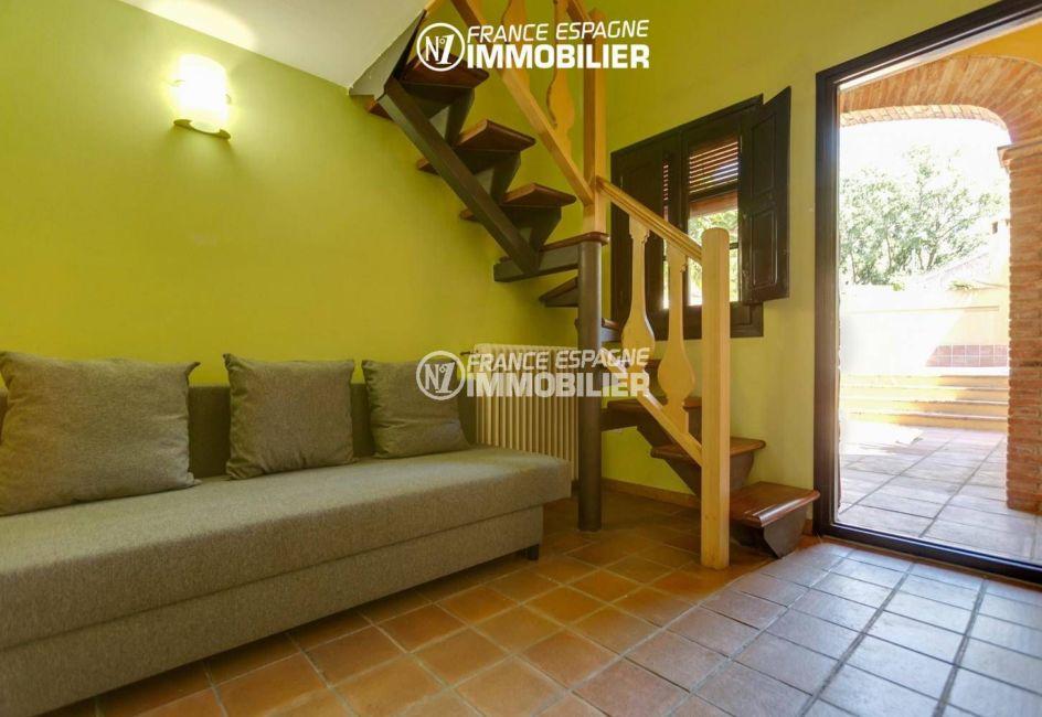 vente immobilier espagne costa brava: ref.3306, hall d'entrée avec la porte d'entrée