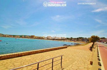 acheter costa brava: villa ref.3268, promenade au bord de la plage aux environs