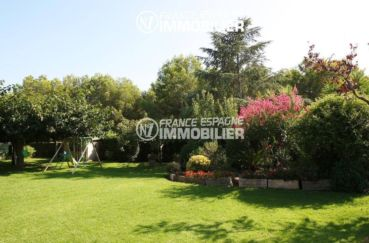 habitaclia rosas: villa ref.2786, espace jeux pour enfants dans le jardin
