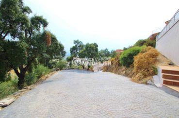aperçu du chemin qui dessert la maison   ref.3203, n1 france espagne