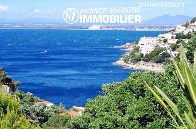 vente villa rosas, ref.312, vue imprenable sur la côte environnante