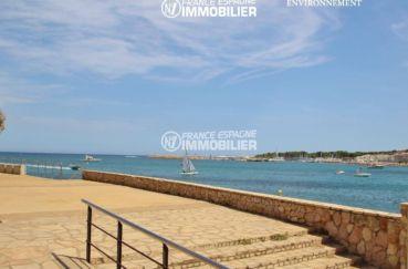 maison a vendre sur la costa brava, ref.3269, escalier accès direct à la plage