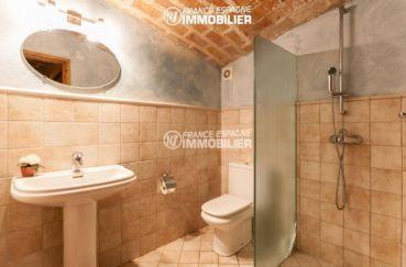 maison a vendre en espagne pres de la frontiere francaise, ref.3306, vue sur salle d'eau