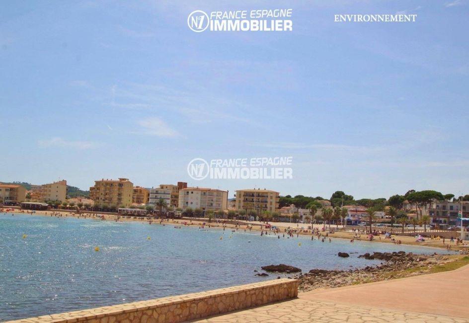 acheter sur la costa brava: villa ref.3269, promenade près de la plage environnante