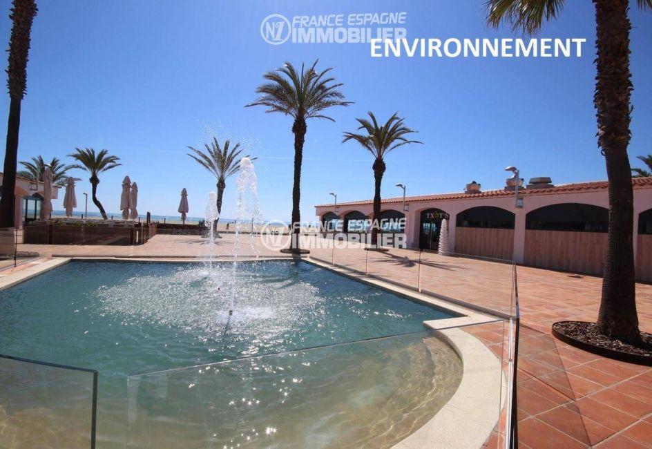 appartement a vendre empuriabrava particulier, ref.3321, restaurants de la plage aux alentours