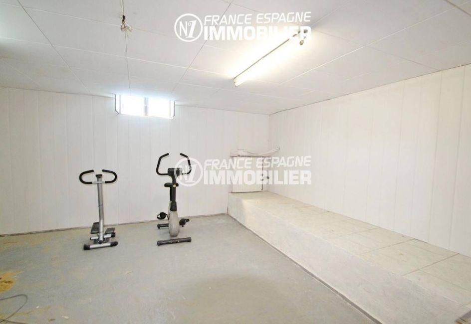 acheter maison costa brava, ref.2606, grande salle: possibilité d'atelier ou salle de gym