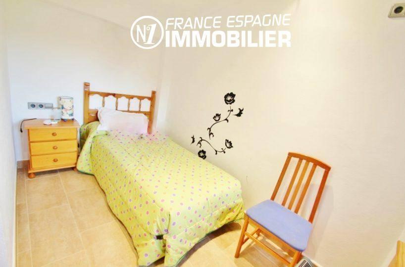 vente maison rosas espagne, ref.2772, quatrième chambre avec lit simple