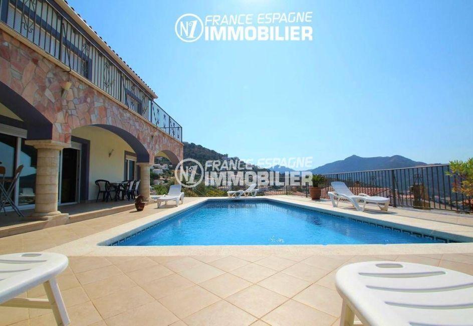 immobilier roses espagne: villa ref.2435, appartement indépendant en bas