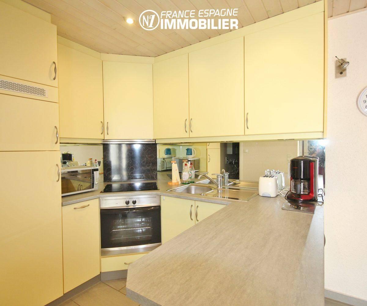 immobilier a empuriabrava: villa ref.911, cuisine américaine aménagée
