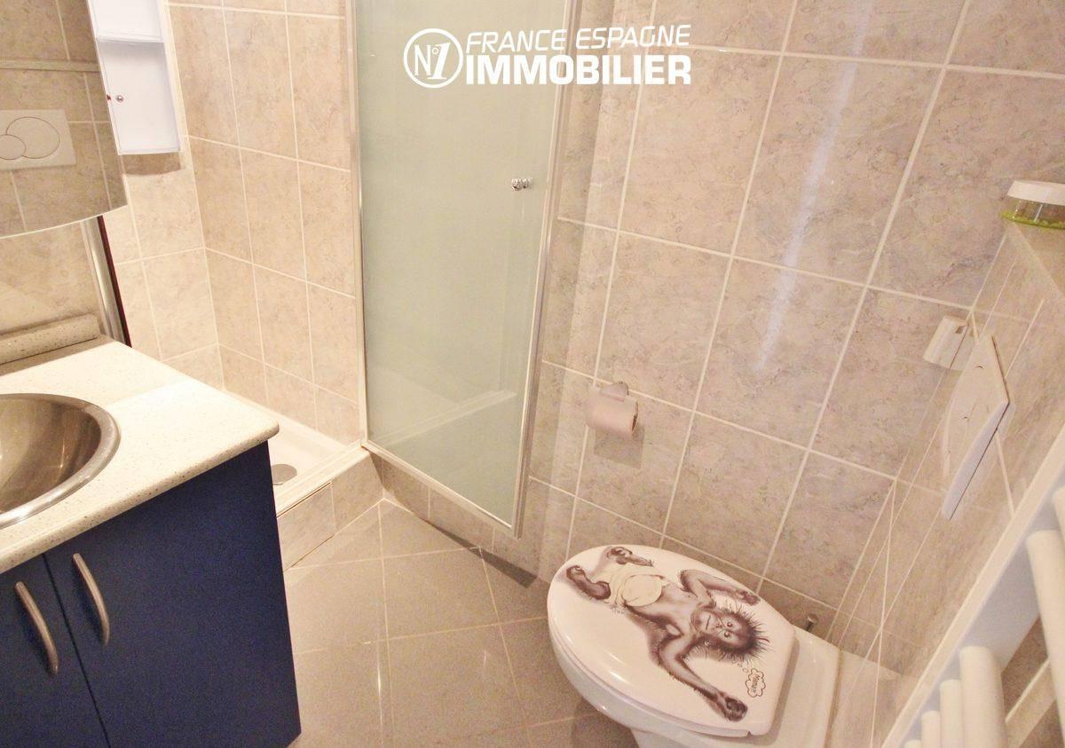 costa brava immobilier: villa ref.911, seconde salle d'eau avec toielttes (villa 1)
