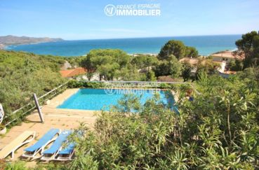 achat immobilier costa brava: villa ref.3399, vue mer, piscine + appartement indépendant