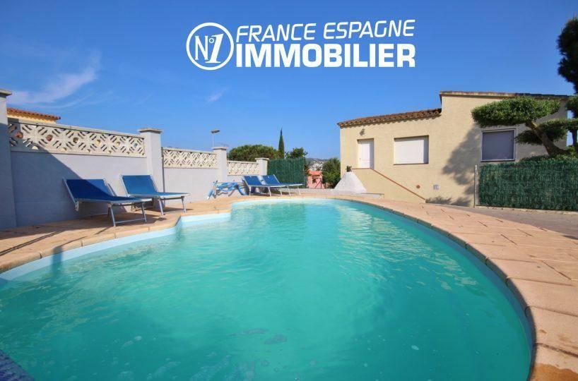 maison a vendre espagne, ref.3402, en 2 appartements indépendants, avec piscine et garage