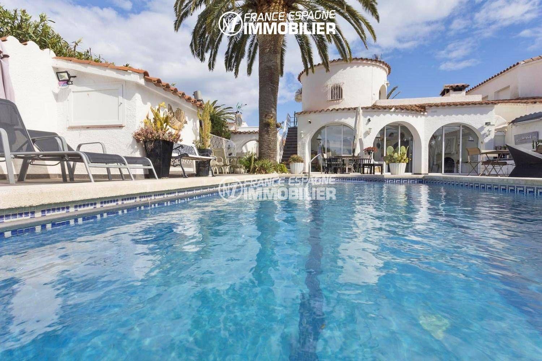 immo costa brava: villa ref.3405, superbe villa avec amarre & piscine
