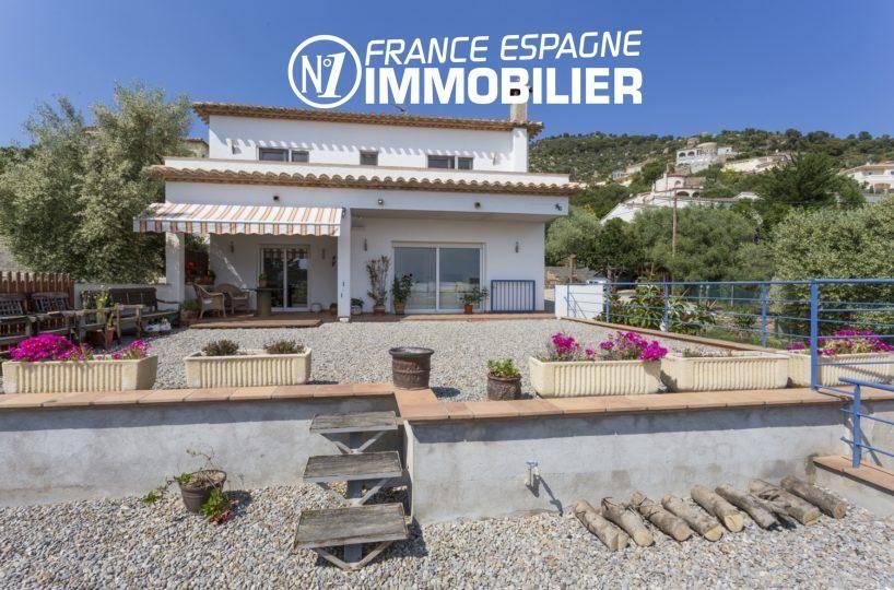 villa ref.3411, vue mer, à palau proche rosas avec studio indépendant