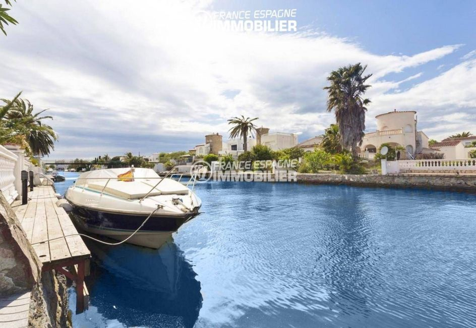 immo empuriabrava: superbe villa ref.3405, avec amarre 12,5 m sur canal