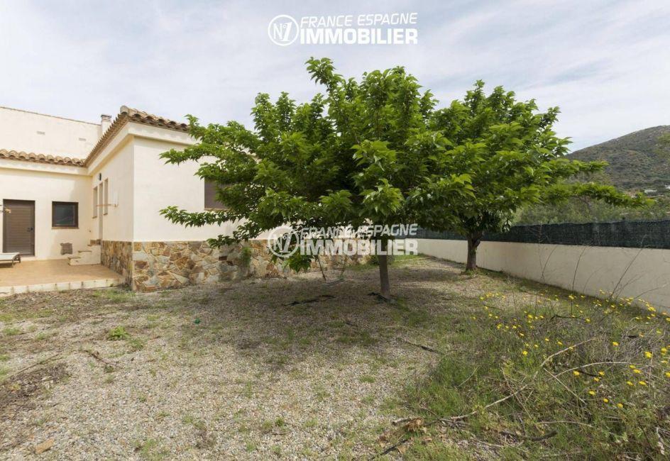 maison a vendre espagne costa brava, ref.3415, vue sur le terrain de 690 m²