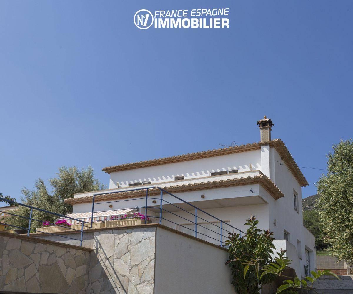 maison a vendre espagne ref.3411: aperçu de la façade arrière