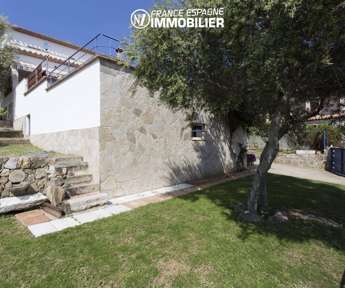 vente villa ref.3411 à palau saverdera, terrain de 800 m² possibilité piscine