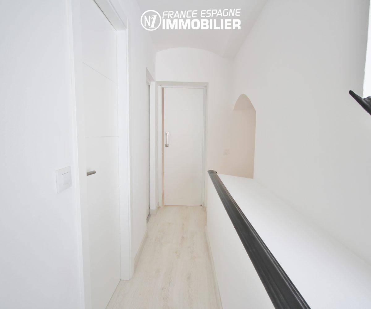 ventes immobilieres rosas espagne: villa ref.3393, couloir qui dessert d'autres pièces