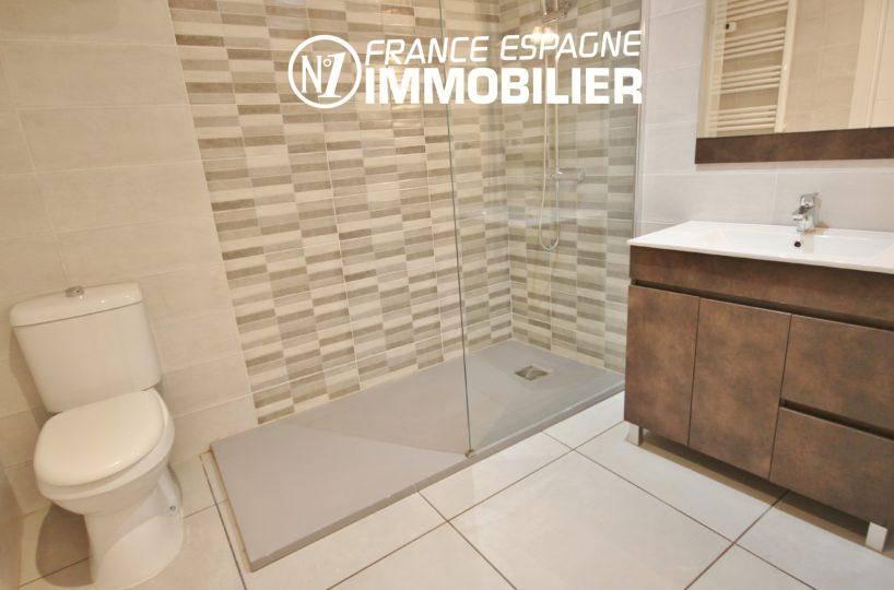 vente maison rosas espagne, ref.3393, salle d'eau avec douche à l'italienne, vasque et wc