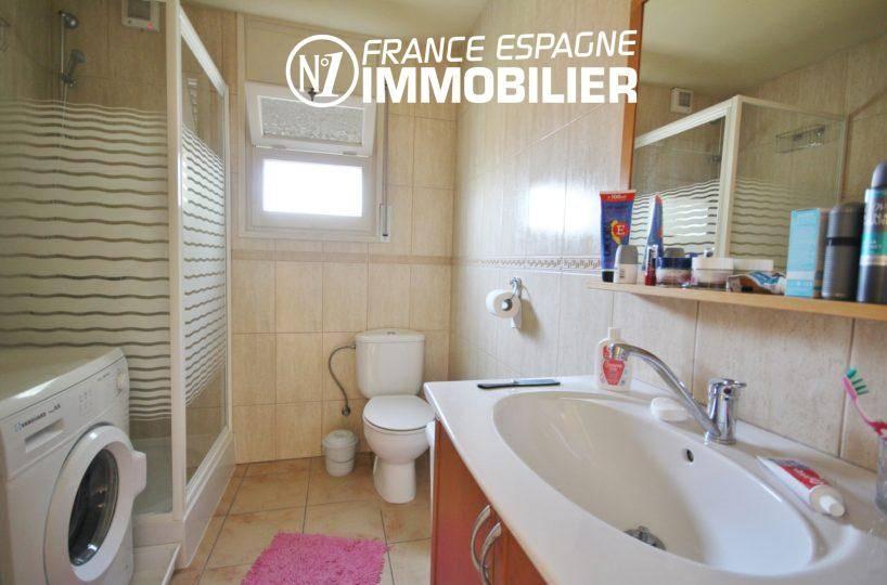 vente immobilier rosas espagne: ref.3402, salle d'eau + cabine de douche, vasque et wc
