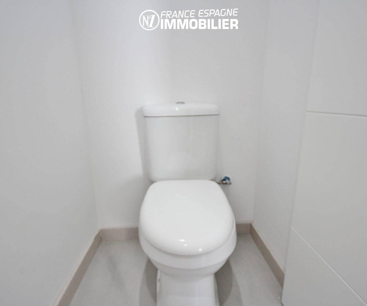 vente villa rosas, ref.3393, aperçu des toilettes indépendantes