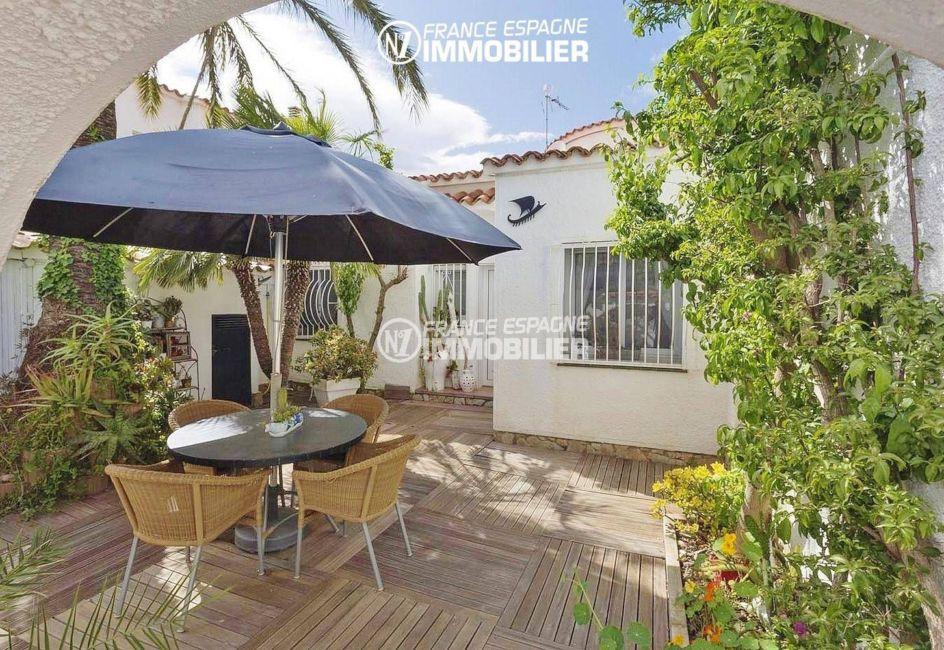 maison a vendre costa brava, ref.3405, petite terrasse ombragée, terrain de 480 m²