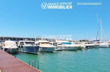 maison a vendre espagne bord de mer, ref.3402, port de plaisance aux environs