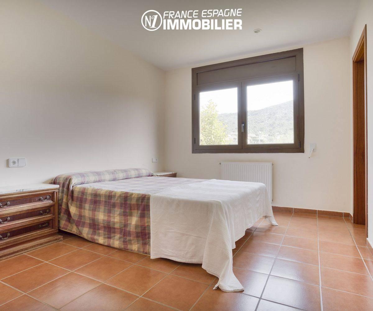 costa brava house: villa ref.3415, suite parentale avec sa salle d'eau