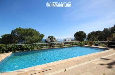 acheter maison costa brava, ref.3399, la piscine avec vue sur la mer