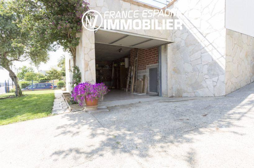 villa ref.3411, entrée du second garage