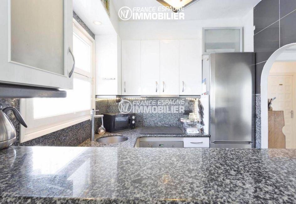 agence immobiliere costa brava: villa ref.3405, 150 m² construit, vue cuisine américaine