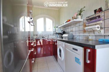 costabrava immo: villa ref.3399, cuisine américaine avec des rangements