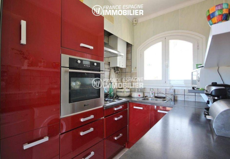maison a vendre en espagne pres de la frontiere francaise, ref.3399, cuisine indépendante