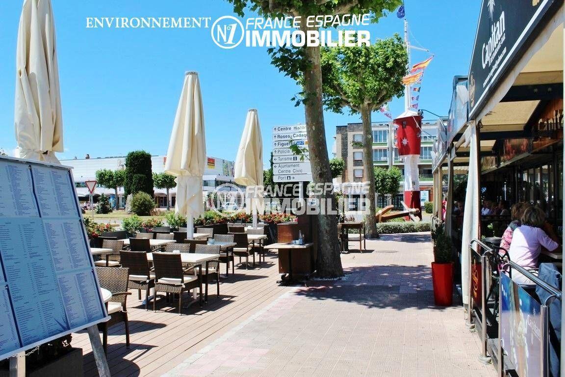 agences immobilières empuriabrava: villa ref.3405, aperçu restaurants alentour