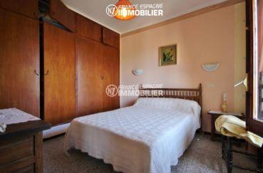 acheter maison espagne costa brava, ref.3399, troisième chambre: lit double et placards