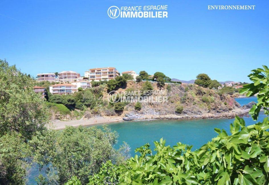 vente villa costa brava, ref.3399, aperçu de la plage et de la côte à proximité